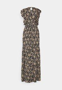 Scotch & Soda - DRAPEY DRESS WITH SCALLOPED EDGE DETAILS - Maxi dress - black - 1