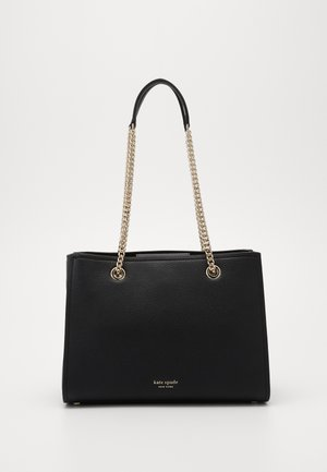 AMELIA CHAIN LARGE TOTE - Torebka - black