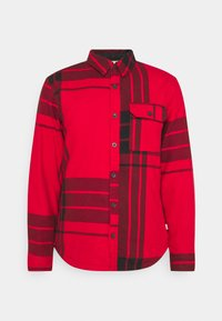 The North Face - CAMPSHIRE - Fleecová bunda - red - 4