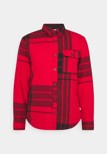 CAMPSHIRE - Fleece jacket - red
