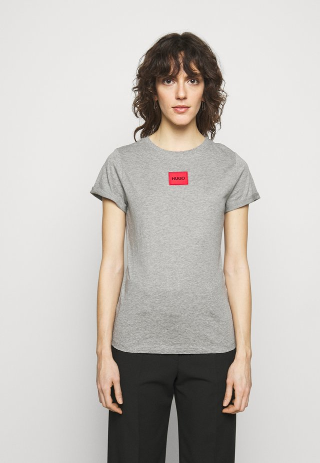 THE SLIM TEE REDLABEL - T-shirt print - grey melange