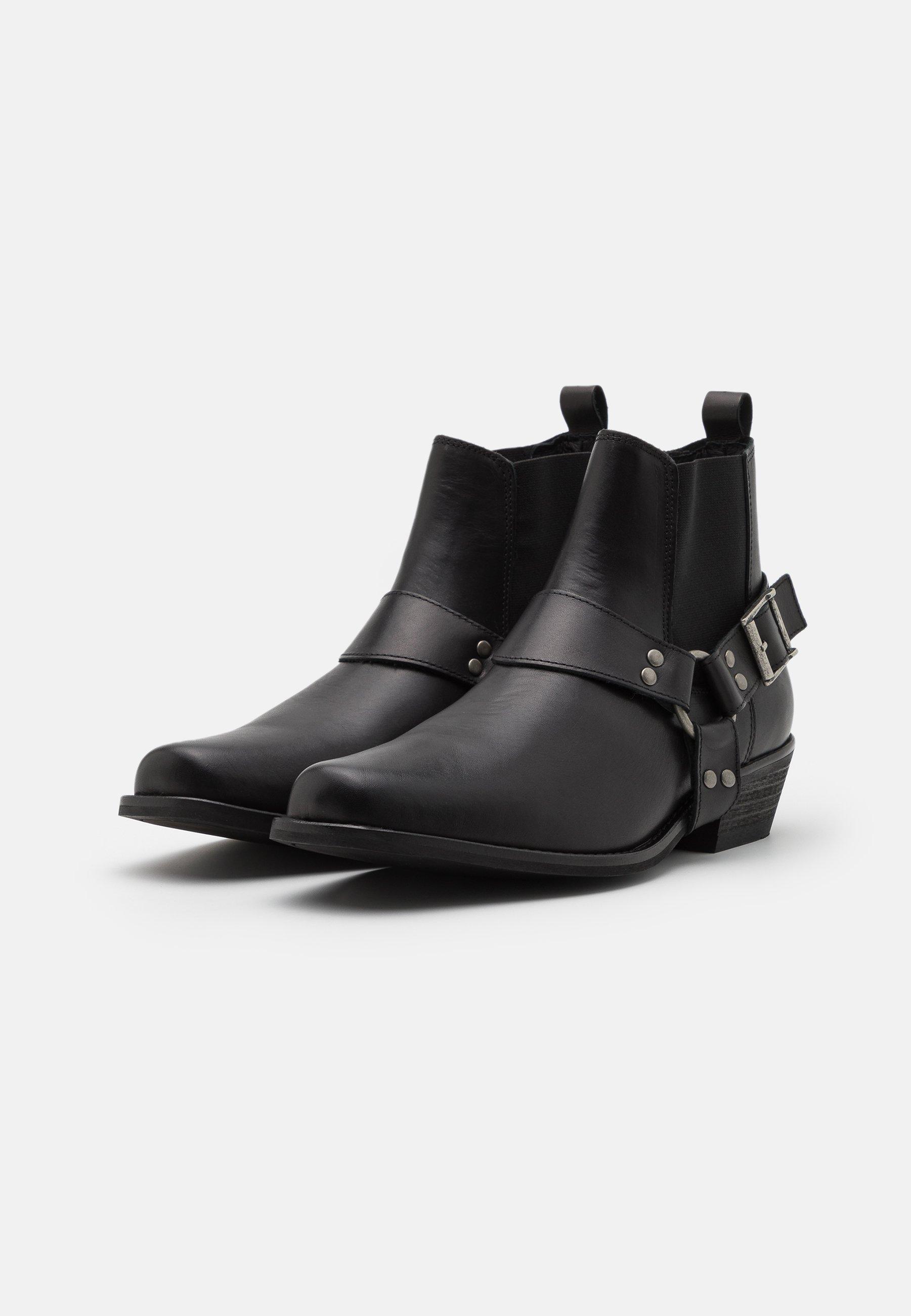 Men SLHHENRY BOOT - Cowboy/biker ankle boot