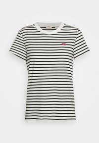 Levi's® - PERFECT TEE - T-shirts print - benitoite/cloud dancer - 4