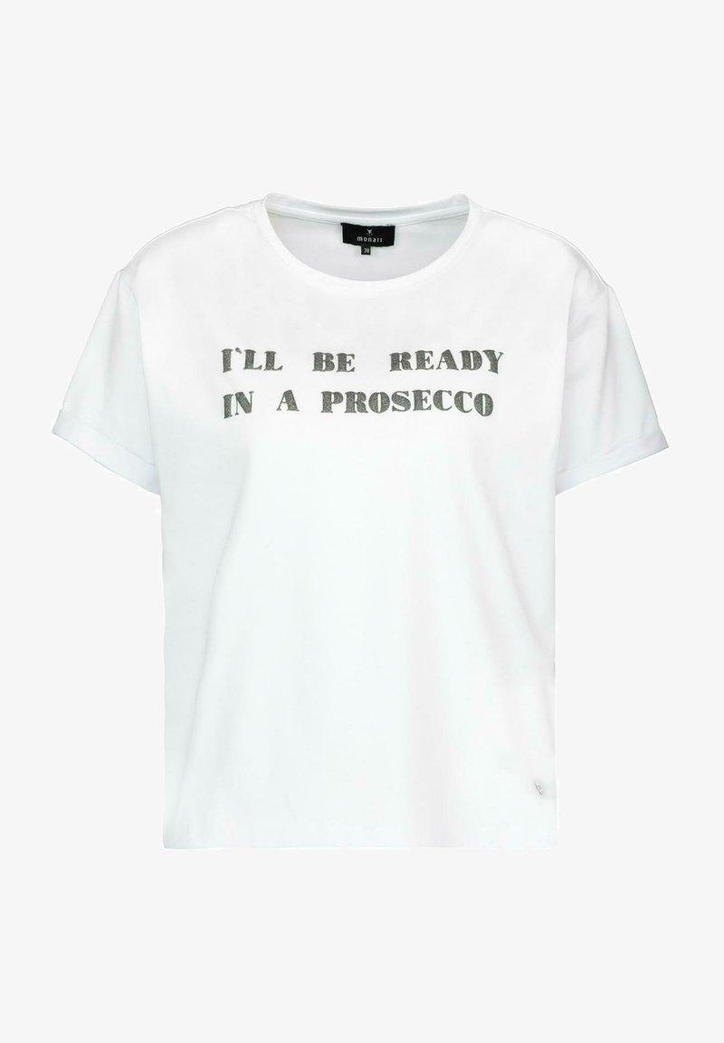 Monari - Basic T-shirt - white