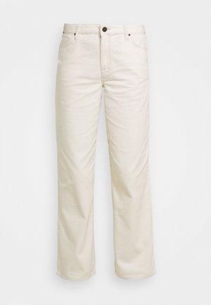 WIDE LEG LONG - Pantalon classique - shark tooth