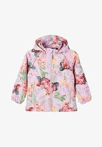 Name it - Waterproof jacket - pale lilac - 0