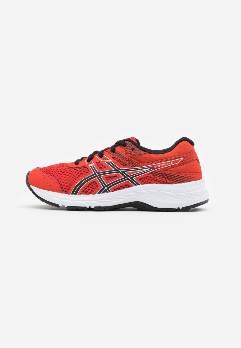 ASICS - CONTEND 6 - Neutral running shoes - fiery red/black