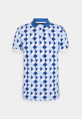 TILE  - Polo shirt - white/blue