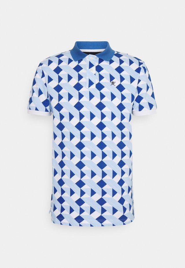 TILE  - Poloshirts - white/blue