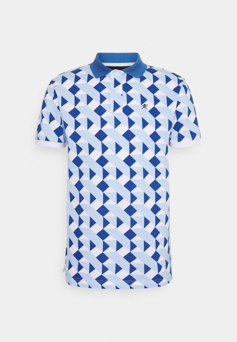 Hackett London - TILE  - Polo shirt - white/blue