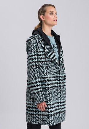 Short coat - black varied