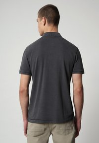 Napapijri - ELBAS - Polo shirt - dark grey solid - 1
