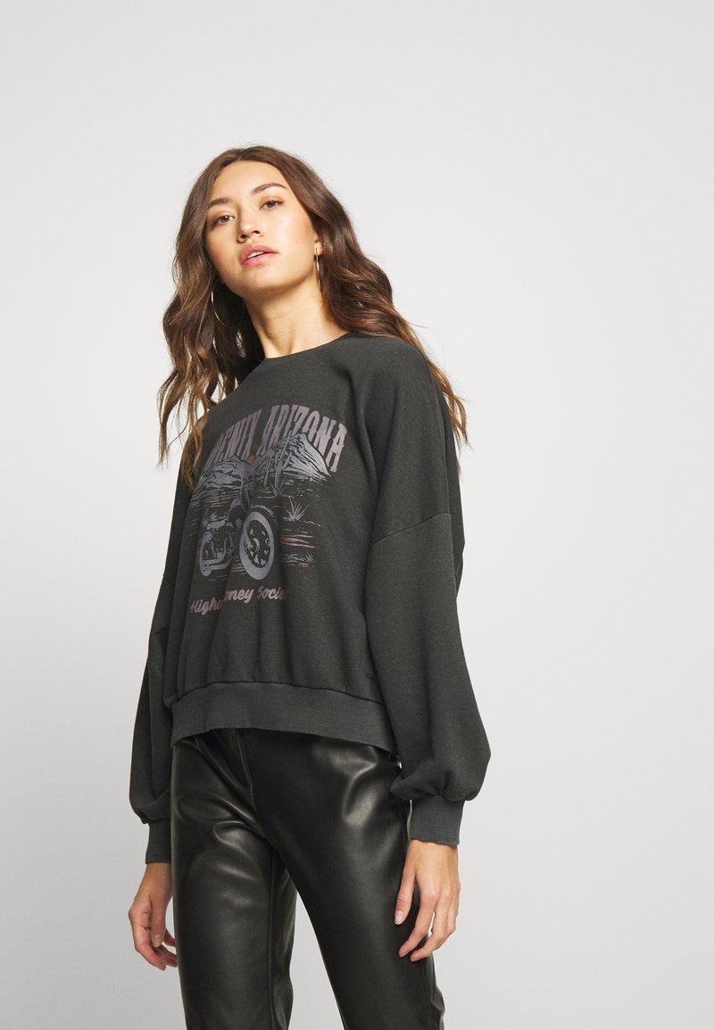 Gina Tricot - ERIN - Sweatshirt - black