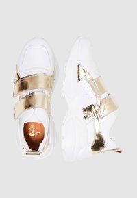 faina - Trainers - white/gold - 2