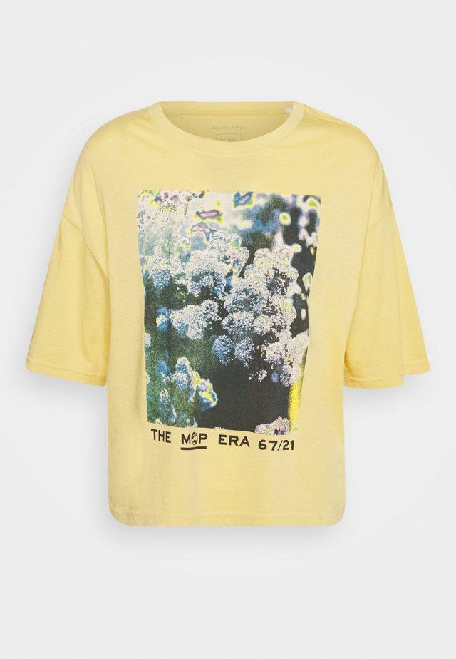 SHORT SLEEVE - Camiseta estampada - yellow