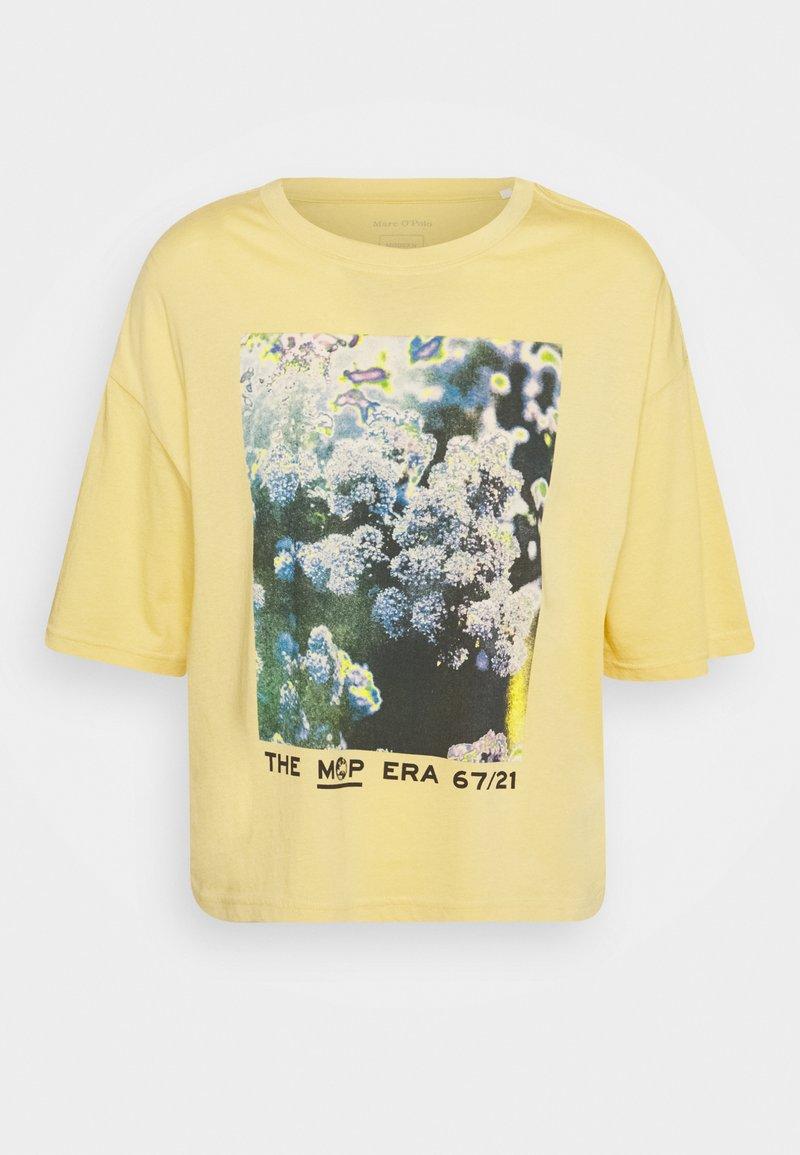 Marc O'Polo - SHORT SLEEVE - Print T-shirt - yellow