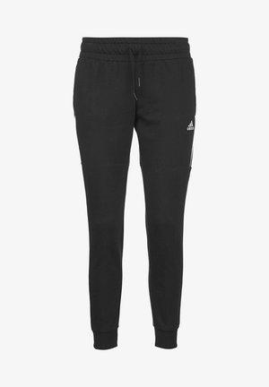 ESSENTIALS CUT 3-STREIFEN JOGGINGHOSE DAMEN - Pantalones deportivos - black