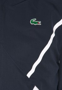 Lacoste Sport - SET TENNIS TRACKSUIT HOODED - Survêtement - navy blue/white - 5