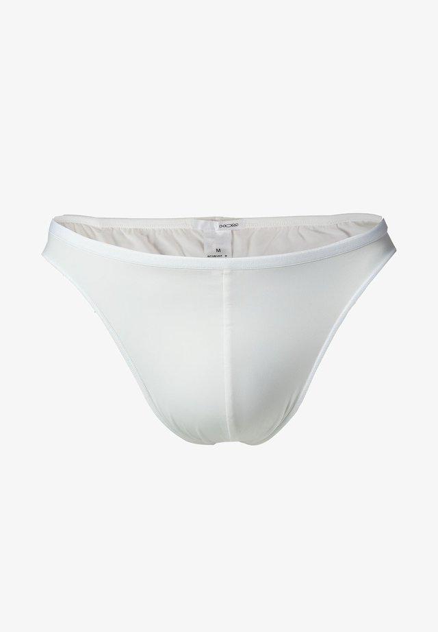 PLUMES - Slip - weiß