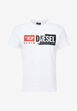 DIEGO CUTY - Print T-shirt - white