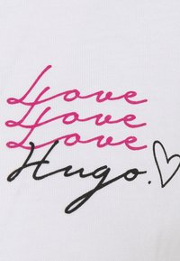 HUGO - THE REGULAR TEE - Print T-shirt - white - 2
