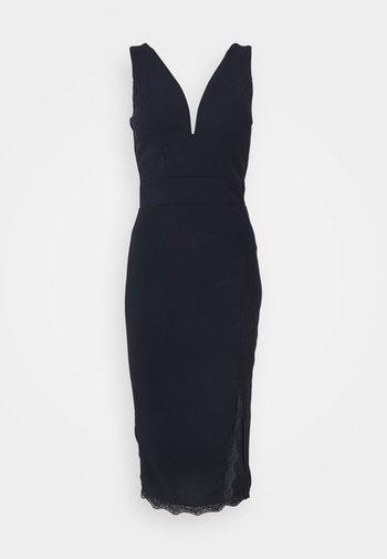 CHANTELLE MIDI DRESS - Jersey dress - navy blue