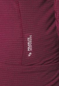 Salewa - ROLLE - Fleece jacket - rhodo red - 5