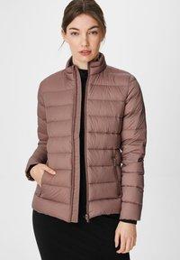 C&A - Down jacket - dark pink - 0