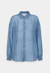 Moss Copenhagen - ABELLE - Button-down blouse - lake blue - 0
