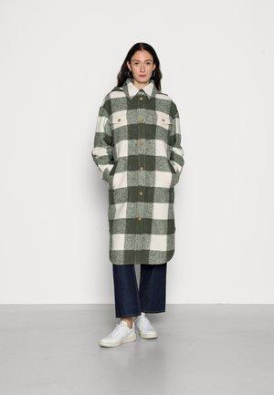 CHECK COAT - Classic coat - multi/olivia gray