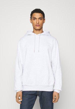 CASUAL HOODIE - Sweatshirt - light grey melange