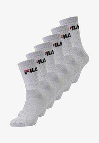 Fila - 6 PACK - Socks - grey - 0