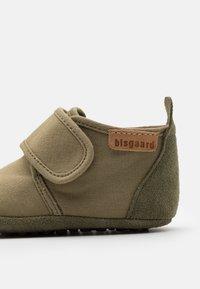 Bisgaard - BABY UNISEX - První boty - green - 5