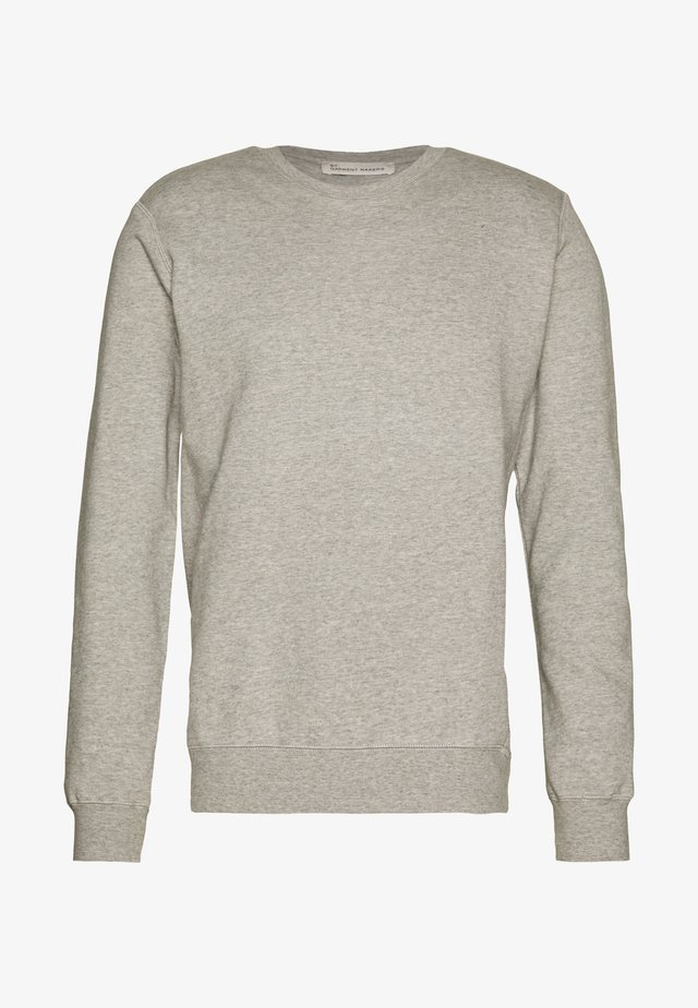 UNISEX THE ORGANIC SWEATSHIRT - Felpa - light grey