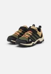 adidas Performance - TERREX AX2R UNISEX - Hiking shoes - wild pine/core black/screaming orange - 1