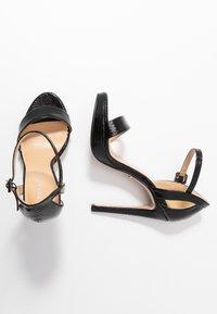 Tata Italia - Korolliset sandaalit - black - 3