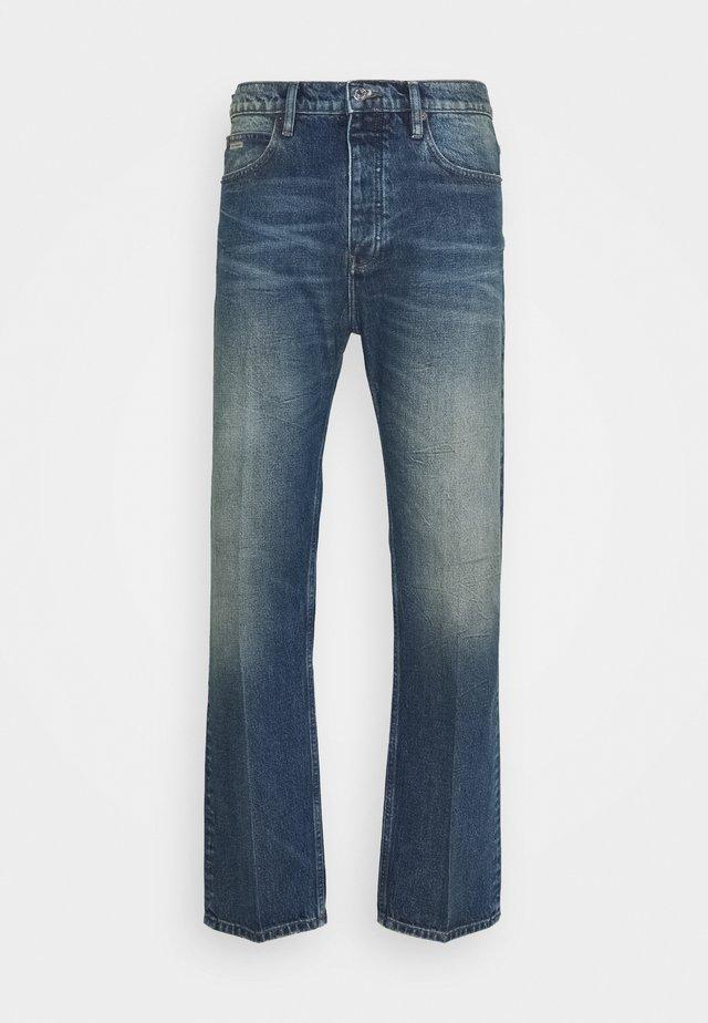Jeans a sigaretta - blue denim