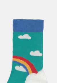 Frugi - ROCK MY SOCKS 3 PACK UNISEX - Socks - pacific aqua - 2