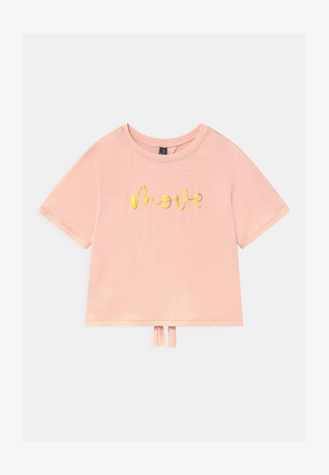 GIRLS MOVE - Camiseta estampada - pink