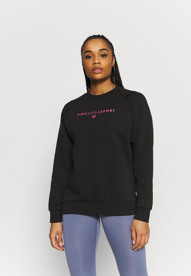 TANISHA TAPE CREW - Sweater - black