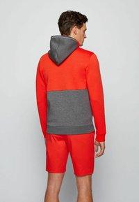 BOSS - SAGGY - veste en sweat zippée - grey - 2