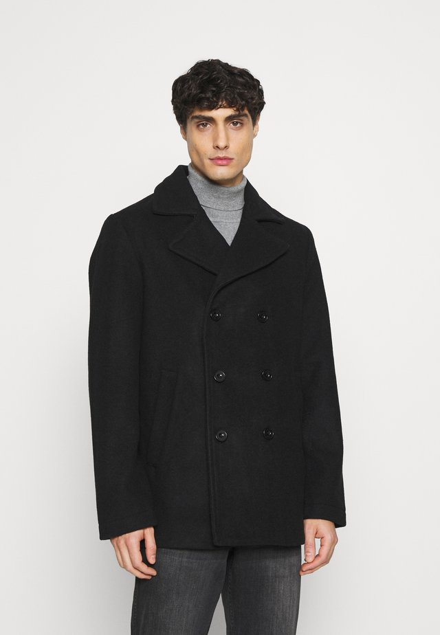 PEACOAT - Krátký kabát - true black
