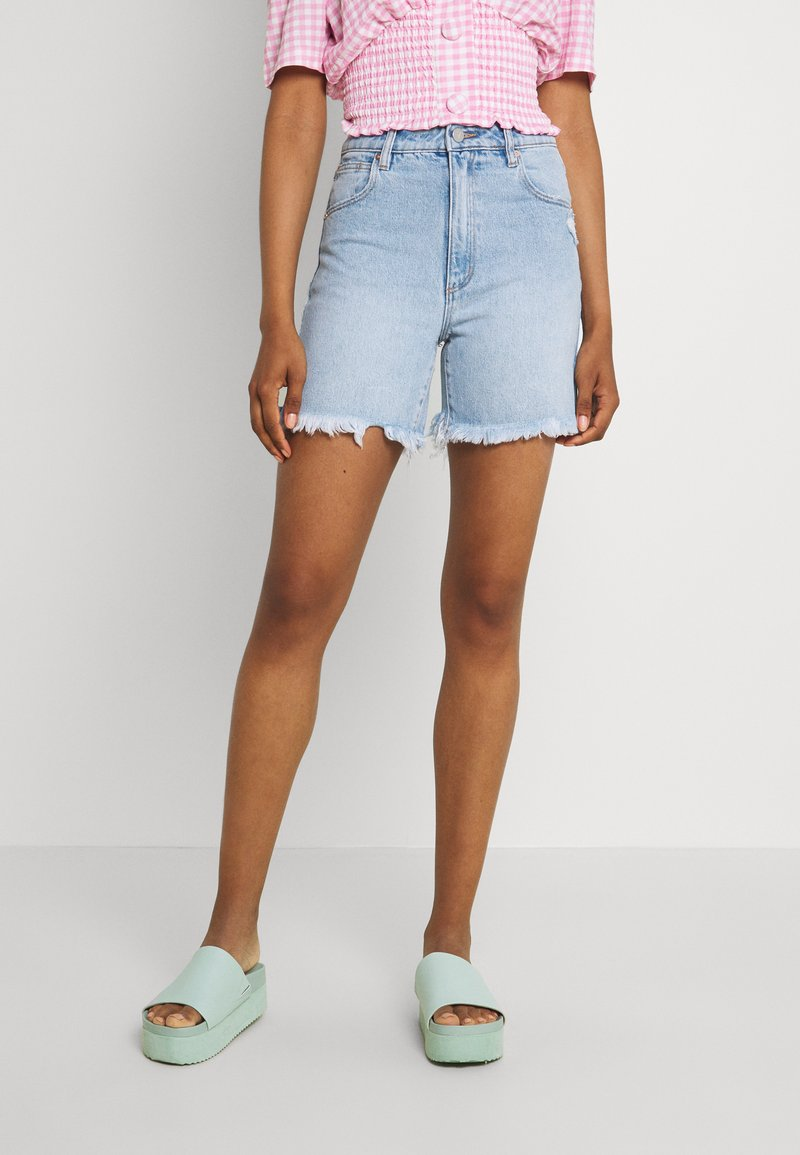 Abrand Jeans - A CLAUDIA CUT OFF - Jeans Shorts - emily