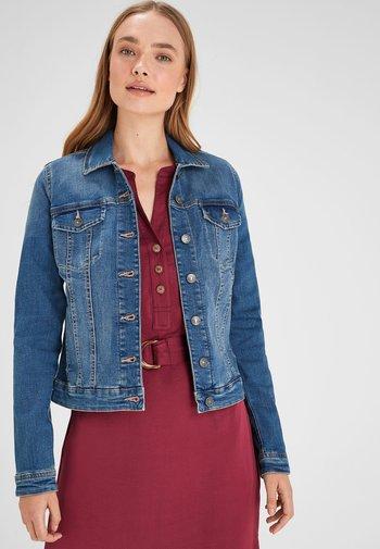 PETITE - Denim jacket - royal blue