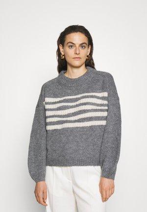 MALIA BEACH - Jumper - cloudy grey