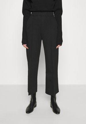 WIDE LEGGED TROUSER - Trousers - black