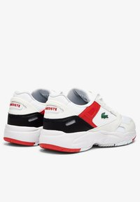 Lacoste - STORM 96  - Tenisky - white/red - 2