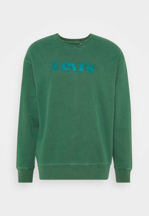 PRIDE RELAXED GRAPHIC CREW UNISEX - Sweatshirt - greens