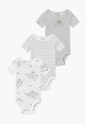 NEUTRAL BABY 3 PACK - Body - grey/white