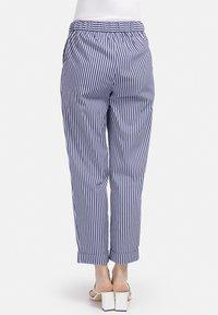 HELMIDGE - GUMMIBUND - Trousers - blau - 1